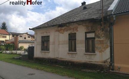 Starší rodinný dom, pozemok 613m2, širšie centrum, Prešov