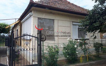 GEMINIBROKER Vám ponúka na predaj pekný domček v obci Vizsoly