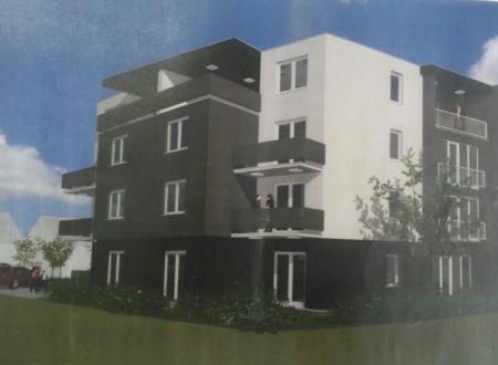 Nový bytový dom v centre mesta pri OC AUPARK, 8 veľkometrážnych bytov a nebytové priestory Posledné 2 byty!!!