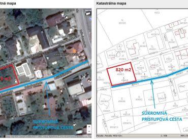 Lukratívny stavebný pozemok v Nitre (Čermáň)