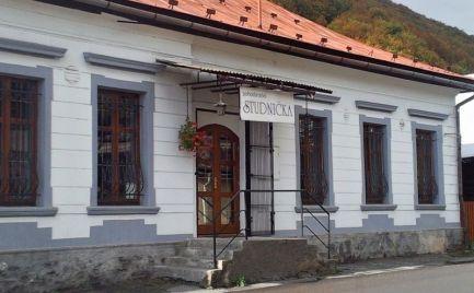 Pohostinstvo na predaj  v centre - výborná  poloha - Mýto pod Ďumbierom - Nízke tatry