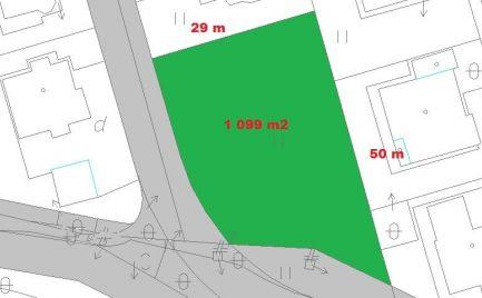 Top ponuka - Slnečný stavebný pozemok 1 099 m2, pre náročného klienta, Banská Bystrica – 138 € / m2