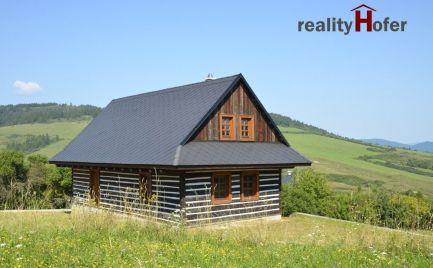 Historická drevenica blízko lyžiar. strediska Dubovica, 12 km od Sabinova
