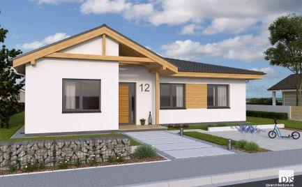 Novostavba 4 izbového rodinného domu s pivnicou, terasou a nádherným výhľadom.!!!!!! Znížená cena.!!!!!!