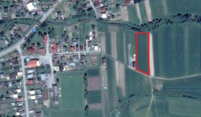 AKCIA: Skvelá investícia do pozemku v Kračúnovciach
