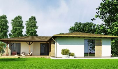 NIZKOENERGETICKÝ 4 izbový dom, užitková plocha 89 m2,