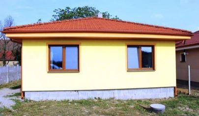 HRUBOŇOVO 3 izbová novostavba 103m3 zastavaná plocha pozemok 550 m2, okr. Nitra
