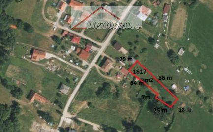 Parcela so stavebným povolením v obci Malatíny