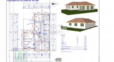 4 - izbový rodinný dom 92,34m2, s pozemkom 414 m2, vo vyhľadávanej časti Rajky