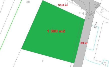 Zľava - Slnečný stavebný pozemok 1 300 m2, rovina Banská Bystrica – Cena 66 000 €