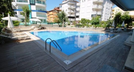 Predaj 2 izbový apartmán 55 m2 Oba Alanya Turecko 18207