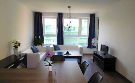 Prenájom 2-izbového bytu s loggiou - novostavba