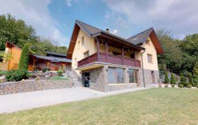 Na predaj veľmi pekný 6-izbový rodinný dom v obci Skalka nad Váhom
