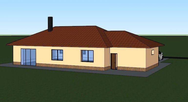 ZNÍŽENÁ CENA!!! NOVOSTAVBA 4-izbový, rodinný dom s garážou