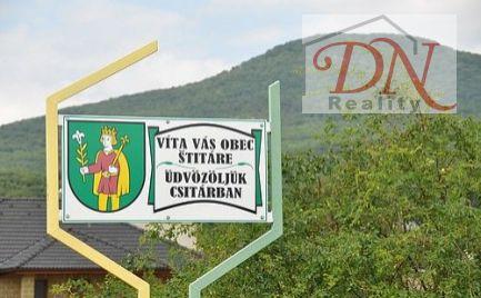 Exkluzívne u nás ! Predaj pozemku v obci Štitáre