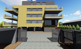 VÝNIMOČNÝ 4-izbový byt o výmere 137,48 m2  v novom obytnom komplexe Calvin residence v Prievidzi
