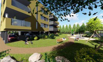 VÝNIMOČNÝ 4-izbový byt o výmere 137,66 m2  v novom obytnom komplexe Calvin residence v Prievidzi