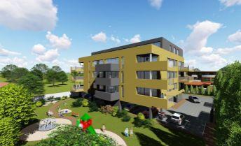 VÝNIMOČNÝ 3-izbový byt o výmere 104,78 m2  v novom obytnom komplexe Calvin residence v Prievidzi
