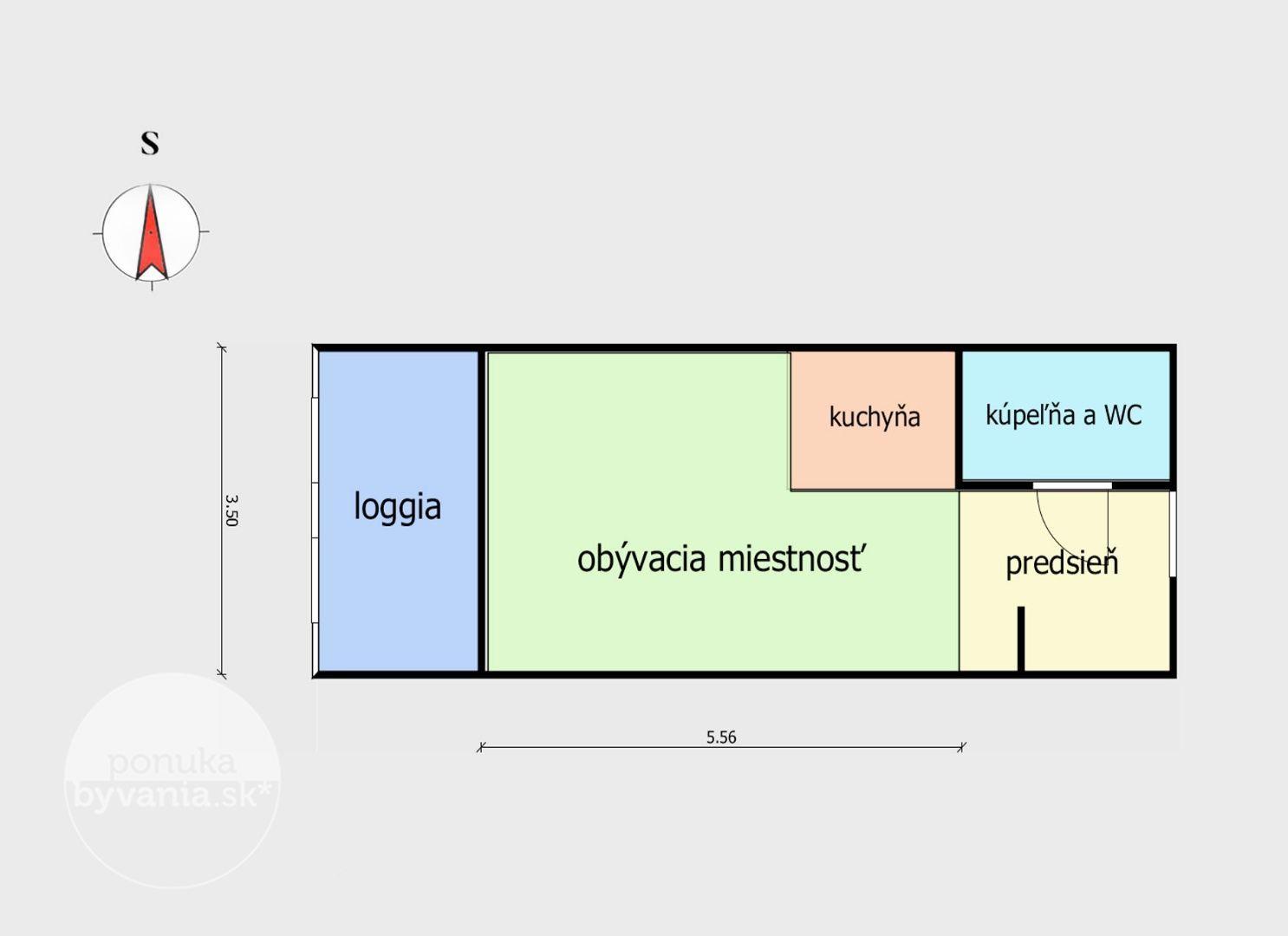 ponukabyvania.sk_Béžová_1-izbový-byt_LUPTÁK