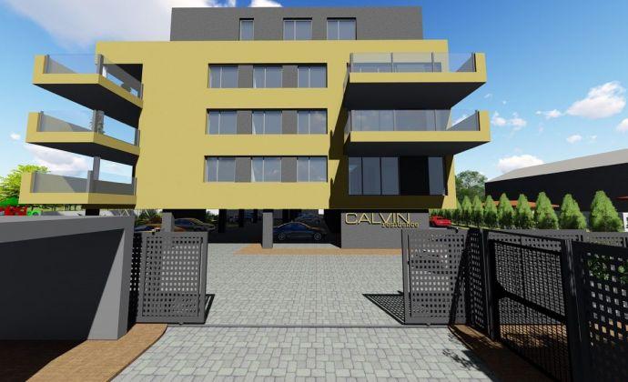 VÝNIMOČNÝ 3-izbový byt o výmere 131,14 m2  v novom obytnom komplexe Calvin residence v Prievidzi