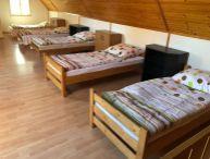 Ubytovanie pre partiu robotníkov v rodinnom dome v obci Suchá nad Parnou