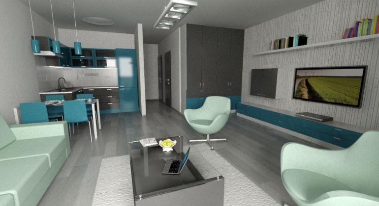 2 izbový byt v skolaudovanom projekte Oppidum