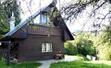 Drevenica v malebnej dedinke - Nízke Tatry