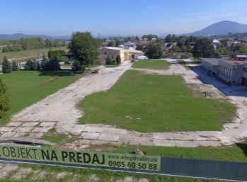 ILAVA - Priemyselný areál/pozemok na predaj - skladové, výrobné, obchodné, parkovacie priestory, ...
