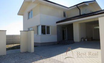 Best Real - novostavba 6 izbového rodinného domu v Dunajskej Lužnej, dvojgaráž, terasa, pozemok 774 m2.