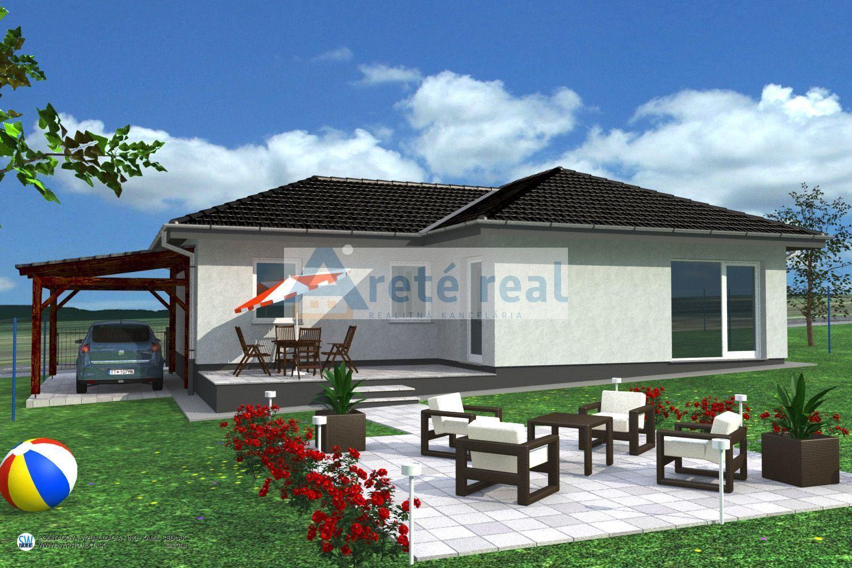 Areté real, Predaj novostavby 4-izbového rodinného domu s 441m2 pozemkom v krásnom, tichom prostredí s krásnym výhľadom v obci Štefanová