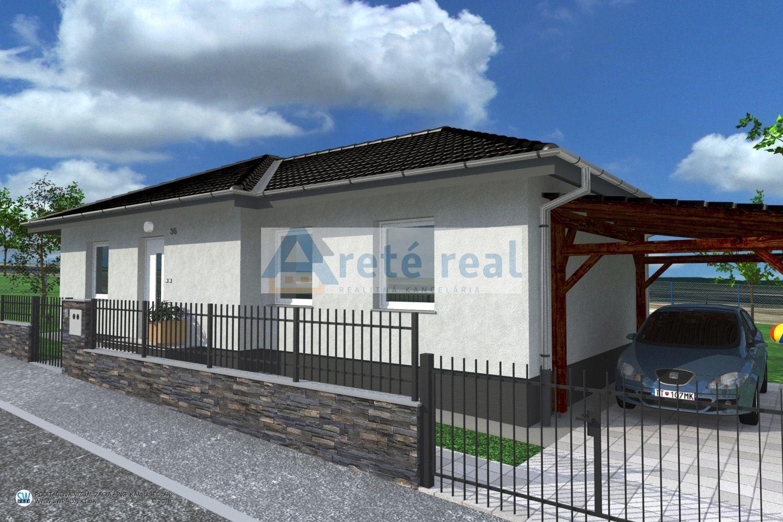 Areté real, Predaj novostavby 4-izbového rodinného domu s 363m2 pozemkom v krásnom, tichom prostredí s krásnym výhľadom v obci Štefanová