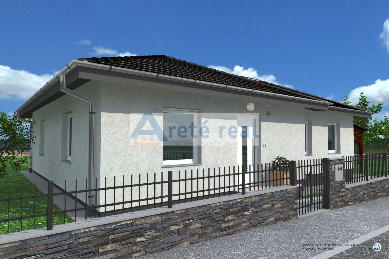 Areté real, Predaj novostavby 4-izbového rodinného domu s 376m2 pozemkom v krásnom, tichom prostredí s krásnym výhľadom v obci Štefanová