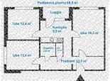 Predaj  pekného 3-izb. bytu – kompletne zrekonštruovaný – na Ožvoldíkovej ul. v Bratislave – Dúbravka.