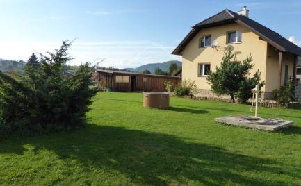 Rodinný dom na veľkom slnečnom pozemku 2680m2 Brezno - Mazorník