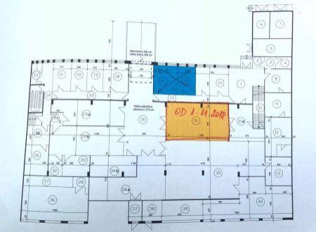 Skladové priestory 76,7m2, Líščie Nivy, Ružinov