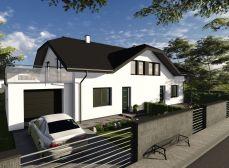 Pred kolaudáciou. Predaj NOVOSTAVBY 5-izbového 2-podlažného  rodinného domu s 2-mi parkovacími miestami, obec: Tomášov - posledný voľný dom