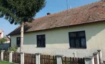 Na predaj rodinný dom v obci Kamanová v pôvodnom stave