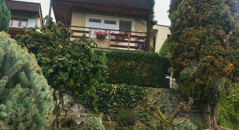 Na predaj záhradná chatka v BN /terasa, pozemok 420m2