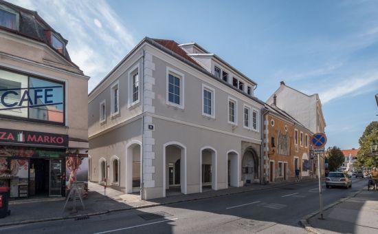 Začnite podnikať v Rakúsku - komerčné priestory v Hainburgu (obchody-kancelárie-ambulancie)
