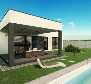 StarBrokers - PREDAJ - bungalov - 4 izb. skolaudovaná novostavba, Čierna Voda, priestranný pozemok