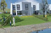 Moderný 4-izbový dom pri jazere s plážou, družstevné financovanie (10 rokov nájom)