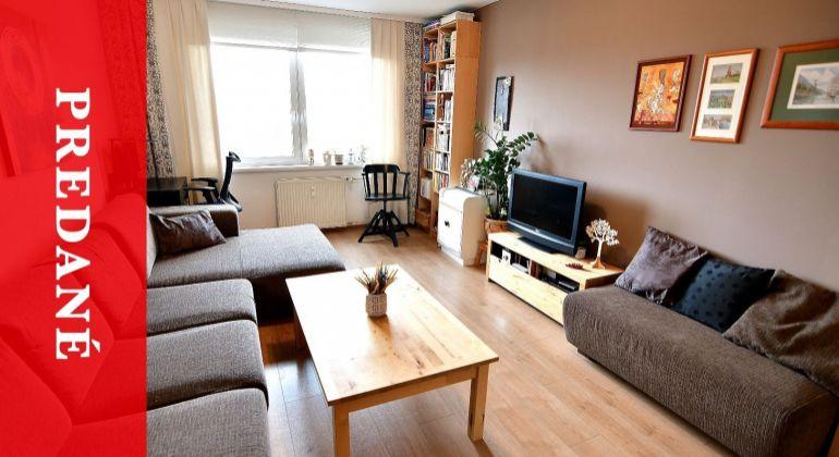 PREDANÝ: Predaj 3i priestranný byt na Hlinách V