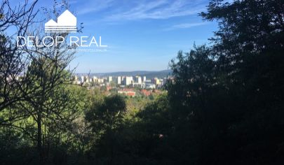 Veľká záhrada s chatkou v Dúbravskom lese