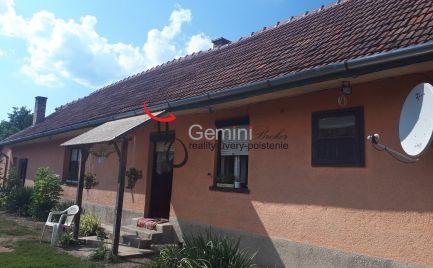GEMINIBROKER ponúka na predaj dom v obci Vilyvitány