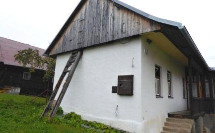 Chalupa ihneď obývateľná - dedinka Šumiac - Nízke Tatry