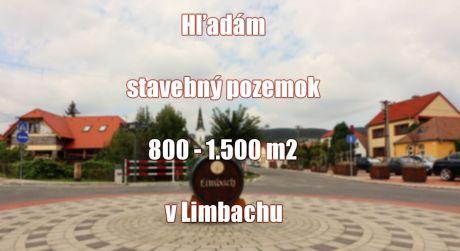 Máte pozemok na predaj 800 - 1.500 m2 v obci Limbach? My máme klienta...