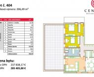 4i luxusný byt s výhľadom v TOP lokalite - Komenského ulica