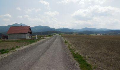 Stavebný pozemok Mošovce okr. Turčianske Teplice