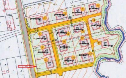 Posledný stavebný pozemok so sieťami o rozlohe 636 m2, 6 km od B. Bystrice - možnosť výstavby RD - Cena 73 200 €