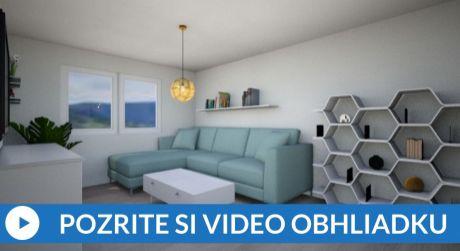 ZNÍŽENÁ CENA - EXKLUZÍVNE 2-izbový byt (51m2) na Brezovci